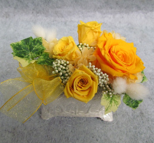 名古屋市千種区覚王山の花屋グラッシーのプリザーブドアレンジ44
