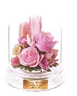 名古屋市千種区の花屋グラッシーのドライブーケGrタイプ