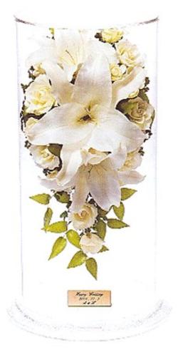 名古屋市千種区の花屋グラッシーのドライブーケLCrタイプ
