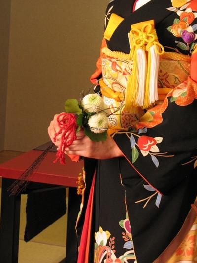 名古屋市千種区の花屋グラッシーのアクセサリーブーケAC6