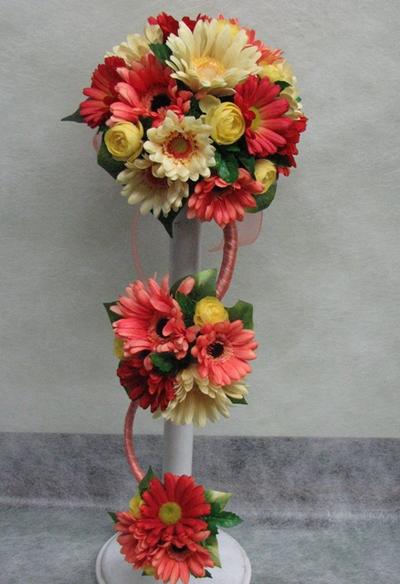 名古屋市千種区の花屋グラッシーのアーティフィシャルブーケAT44