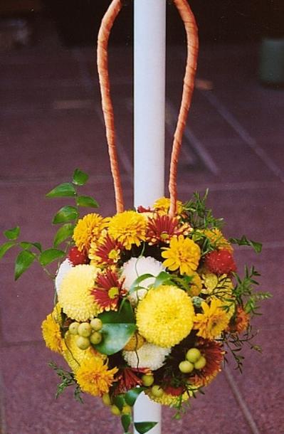 名古屋市千種区の花屋グラッシーのボールブーケB4