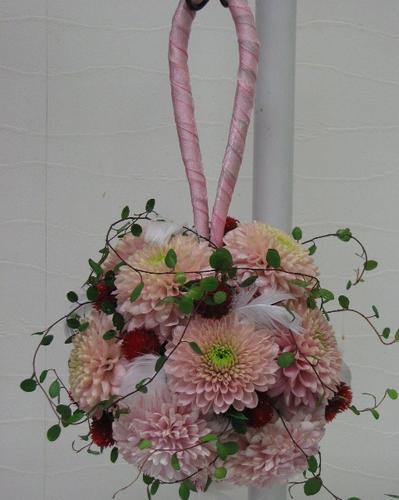 名古屋市千種区の花屋グラッシーのボールブーケB6