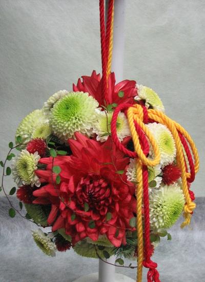 名古屋市千種区の花屋グラッシーのボールブーケB7