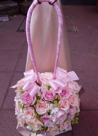 名古屋市千種区の花屋グラッシーのバッグブーケBg2