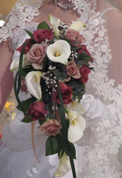 名古屋市千種区の花屋グラッシーのクレッセントブーケCr12