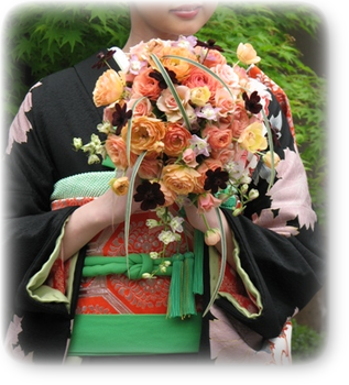 名古屋市千種区の花屋グラッシーのデザイナーズウェディング