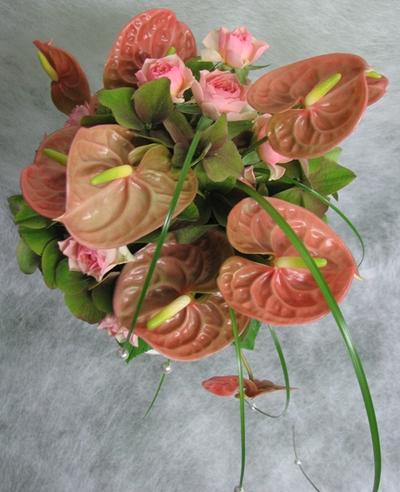 名古屋市千種区の花屋グラッシーのラウンドブーケR146