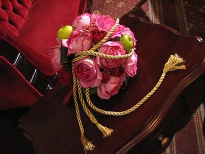 名古屋市千種区の花屋グラッシーのラウンドブーケR151