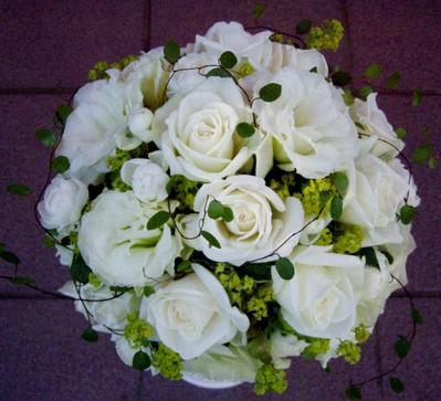 名古屋市千種区の花屋グラッシーのラウンドブーケR30