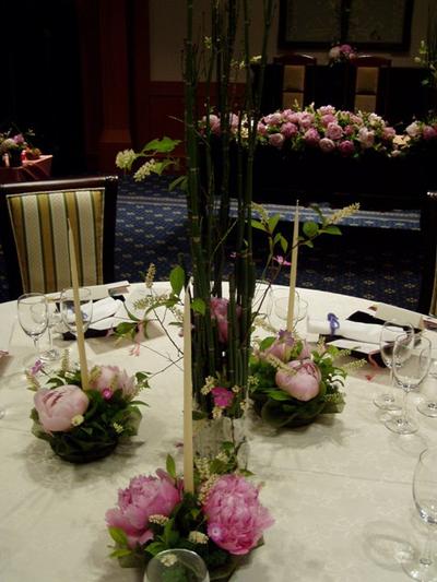 名古屋市千種区の花屋グラッシーのホテルウェディングHGBF060604