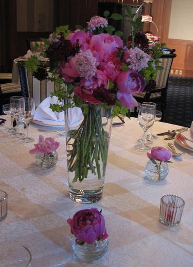 名古屋市千種区の花屋グラッシーのホテルウェディングHGBF100613