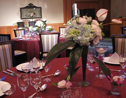 名古屋市千種区の花屋グラッシーのホテルウェディングHGBF101003
