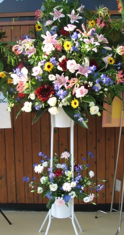 名古屋市千種区の花屋グラッシーのお祝いスタンド10