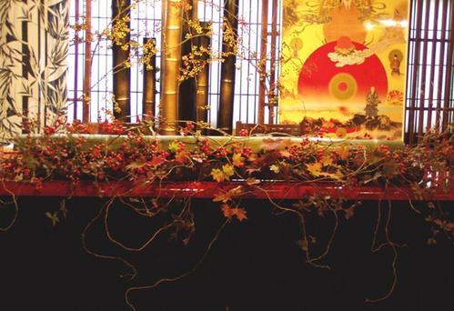 名古屋市千種区の花屋グラッシーの和の披露宴YMMB19