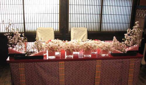 名古屋市千種区の花屋グラッシーのデザイナーズウェディングYMMR31