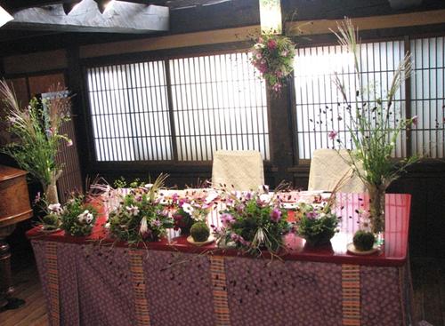 名古屋市千種区の花屋グラッシーのデザイナーズウェディングYMMR39