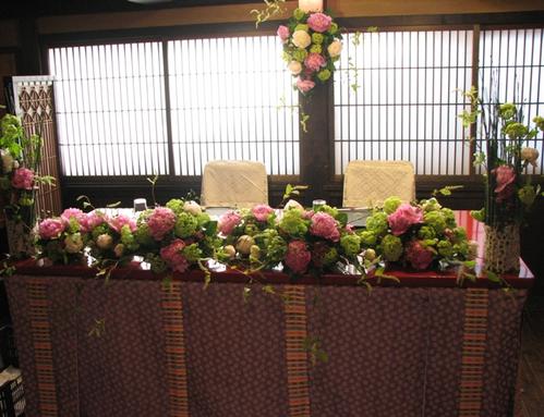 名古屋市千種区の花屋グラッシーのデザイナーズウェディングYMMR49