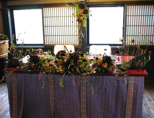 名古屋市千種区の花屋グラッシーのデザイナーズウェディングYMMR51