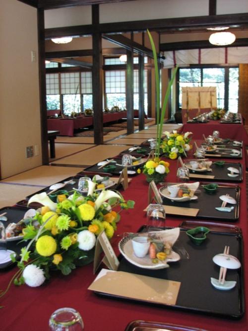 名古屋市千種区の花屋グラッシーの和の披露宴YSTH_L3