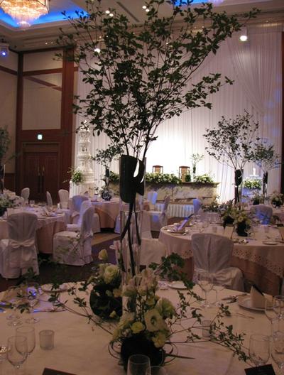 名古屋市千種区の花屋グラッシーのホテルウェディング