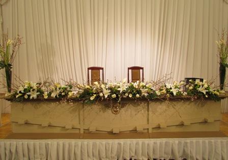名古屋市千種区覚王山の花屋グラッシーのウェディング、ブライダルフラワー