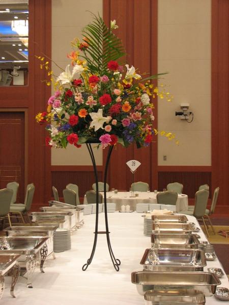 名古屋市千種区の花屋グラッシーのパーティー用装花buffet21000