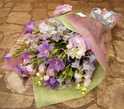 名古屋市千種区覚王山の花屋グラッシーの花束