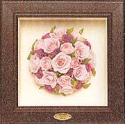 名古屋市千種区の花屋グラッシーの3Dフレームブーケ