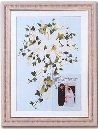 名古屋市千種区の花屋グラッシーの押し花ブーケ